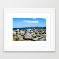 rocky Framed Art Prints featuring Rocky by ACM Visuals