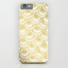 Organic Burst Gold Slim Case iPhone 6