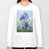 imagine Long Sleeve T-shirts featuring Imagine by milyKnight
