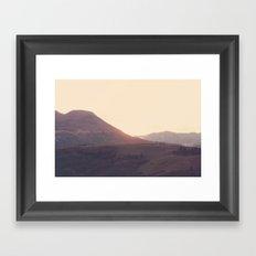 Maybe we're adventurous Framed Art Print