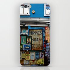 Hippies Use The Side Door iPhone & iPod Skin