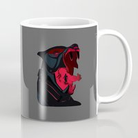 the hound Mugs featuring The Hound by Harry Martin