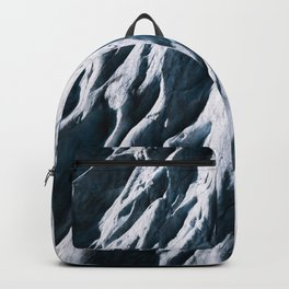 Arctic Glacial Pattern from above - Landscape Photography Backpack