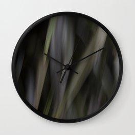 blurred perception of nature #1 Wall Clock