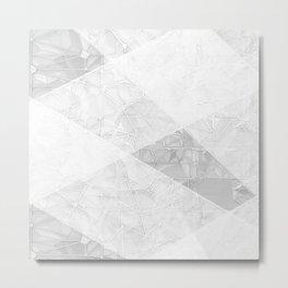 Elevation Lines Metal Print