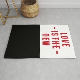 Love is the new BLACK - Towels & more Rug