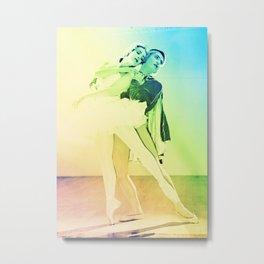 Rainbow Ballet : Swan Lake Metal Print