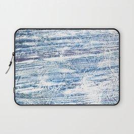 Light blue marble Laptop Sleeve