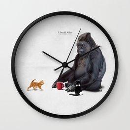 I Should, Koko Wall Clock