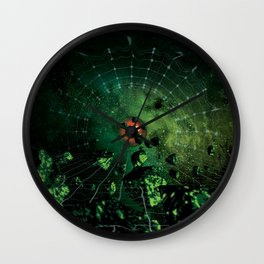 GREEN STONE Wall Clock