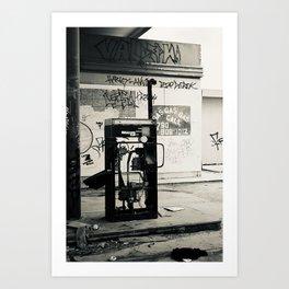 No More Gas Art Print
