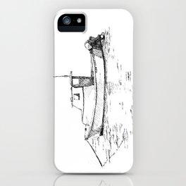 Casco Bay Lobster Boat iPhone Case