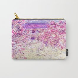 Monet : The House Among the Roses Carry-All Pouch