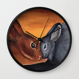 Bonded Wall Clock