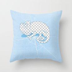 Transparent mode on Throw Pillow