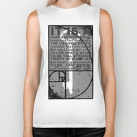 key Biker Tanks featuring KEY by SEKT