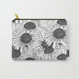 beautiful graphic daisies Carry-All Pouch