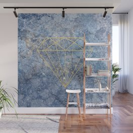 GoldDiamond Marble Wall Mural