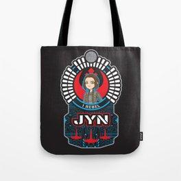 Jyn the rebel Tote Bag