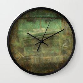 Busted and Broke Wall Clock