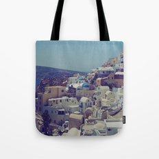 Oia, Santorini, Greece II Tote Bag