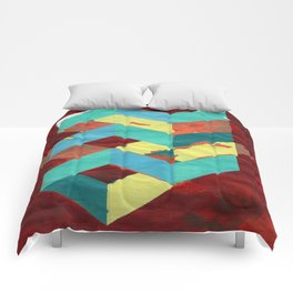 PAINTED GEOMETRY Comforters