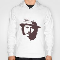 johnny depp Hoodies featuring Lab No. 4 - Johnny Depp Motivational quotes Poster by Lab No. 4
