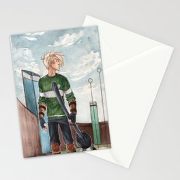Quidditch Stationery Cards