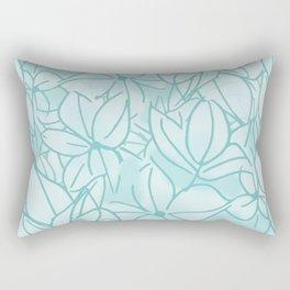Hydrangea Bunch Rectangular Pillow