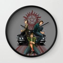 Three Blades Wall Clock