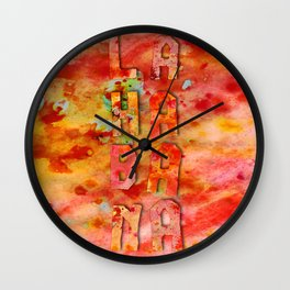 La Habana - CUBA Wall Clock