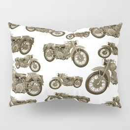 Motorcycles Pillow Sham
