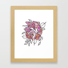 You Spin Me Round Framed Art Print