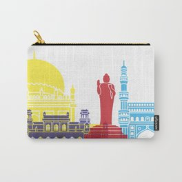 Hyderabad skyline pop Carry-All Pouch