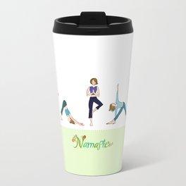 Yoga Girls_Poses_Robin Pickens Travel Mug