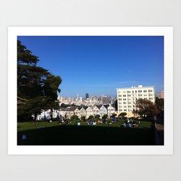San Francisco from Alamo Square Art Print