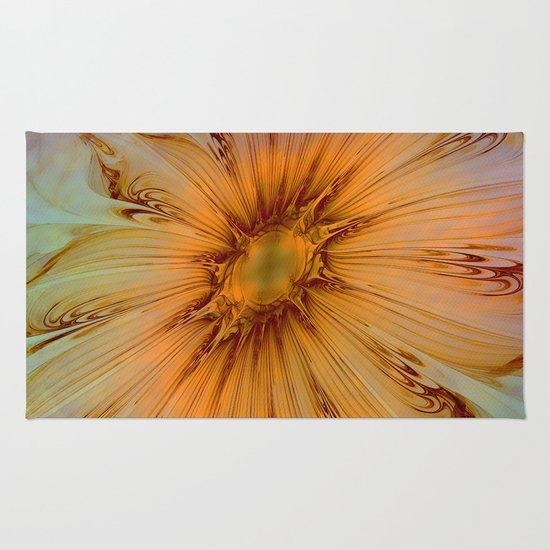Splendid Fractal Flower 2 Rug