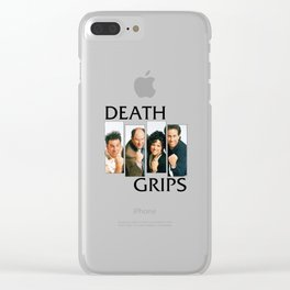 Seingrips Death Grips Clear iPhone Case