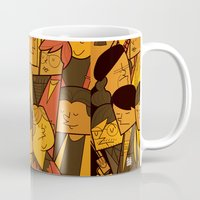 goonies Mugs featuring The Goonies by Ale Giorgini