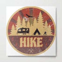Hike Propaganda | Hiking Nature Outdoor Camping Metal Print