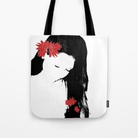 girly Tote Bags featuring girly by annemiek groenhout