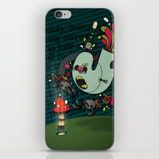 Daisy, Daisy! iPhone & iPod Skin
