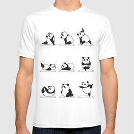 Panda Yoga T-shirt
