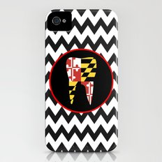 Chevron Tooth iPhone (4, 4s) Slim Case