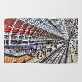 Paddington Station London Rug