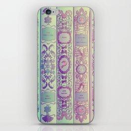 Pattern Books iPhone Skin