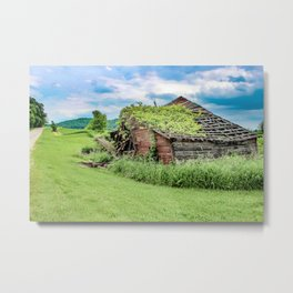 Abandoned But Never Forgotten Metal Print