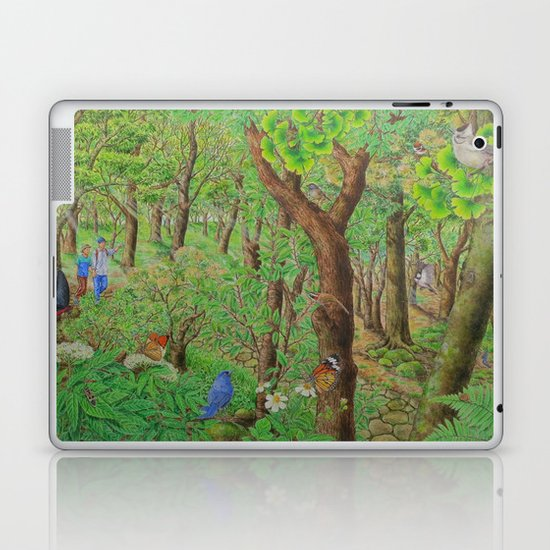 A Day of Forest (2). (sunshine forest) Laptop & iPad Skin