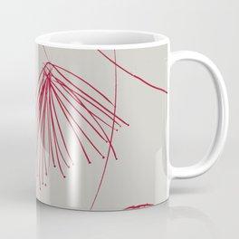 Red silk flowers Coffee Mug