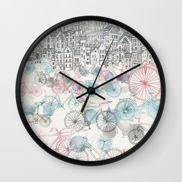 Old Town Bikes Wall Clock
